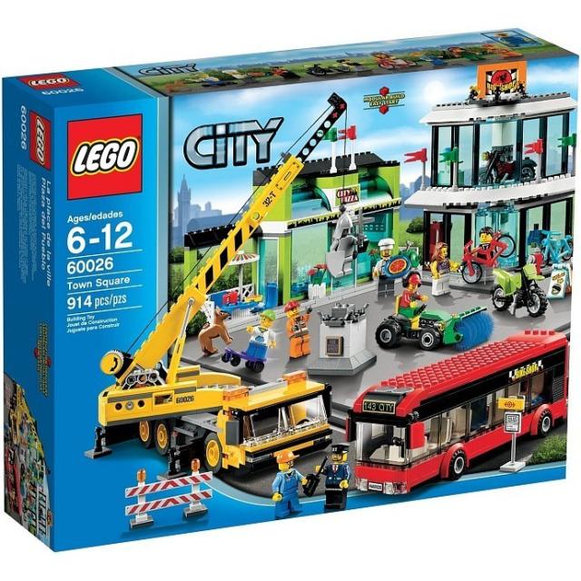 Obrázek produktu LEGO CITY 60026 Náměstí (Town Square)