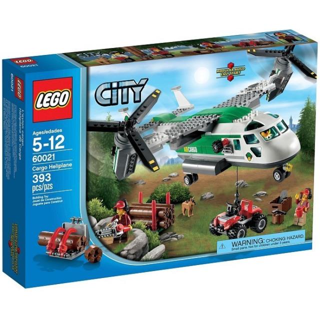 Obrázek produktu LEGO CITY 60021 Nákladní letadlo