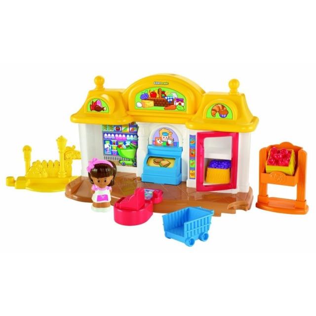 Obrázek produktu Fisher Price Little People Obchod s potravinami, Mattel Y8200