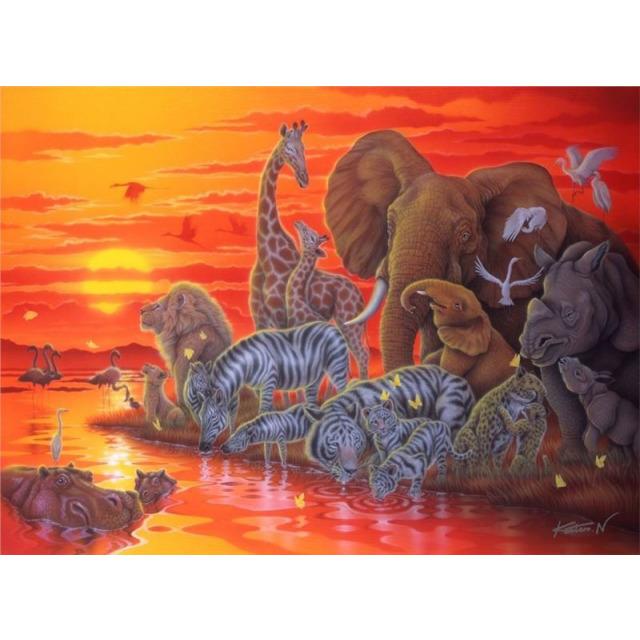 Obrázek produktu Puzzle Afrika 500d. Ravensburger