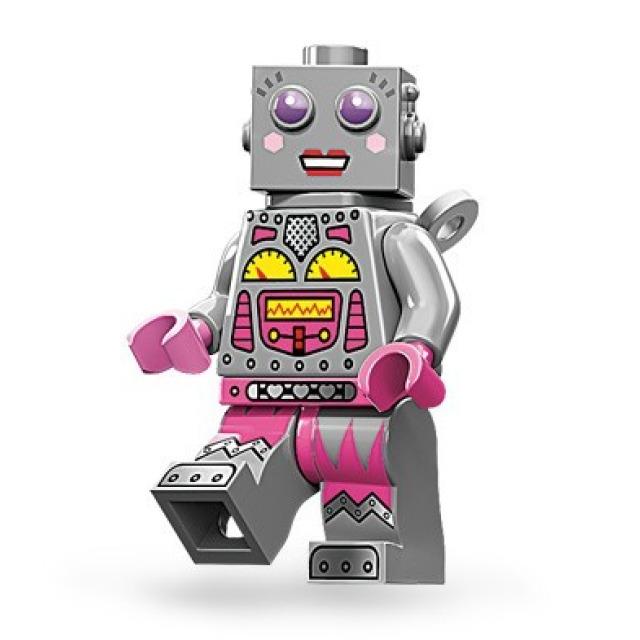 Obrázek produktu LEGO 71002 Minifigurka Robotka