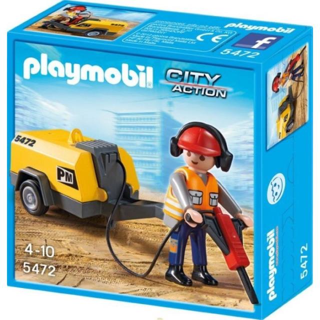 Obrázek produktu Playmobil 5472 Dělník se sbíječkou