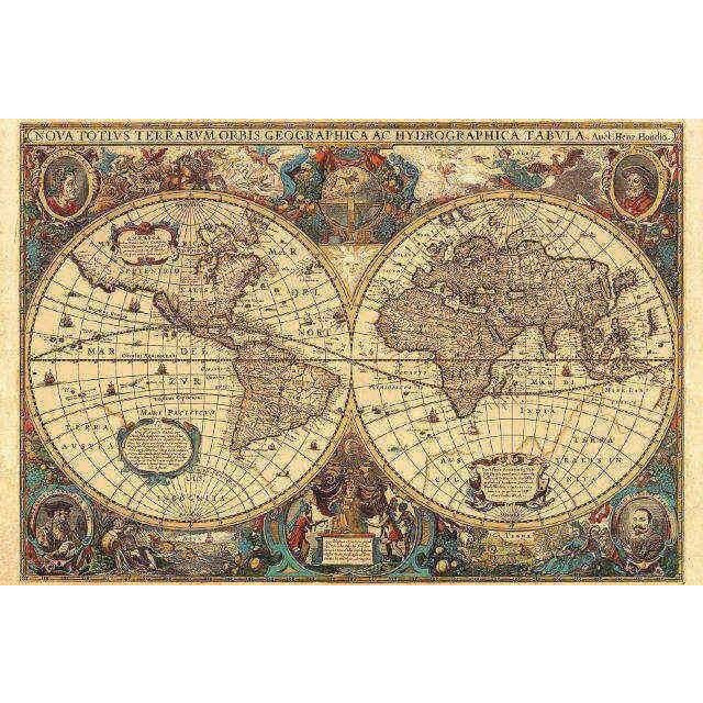 Obrázek produktu Ravensburger 17411 Puzzle Historická mapa světa 1630, 5000 dílků