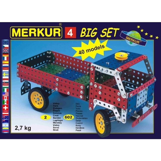 Obrázek produktu Merkur 4 Big set - 40 modelů, 602 dílů