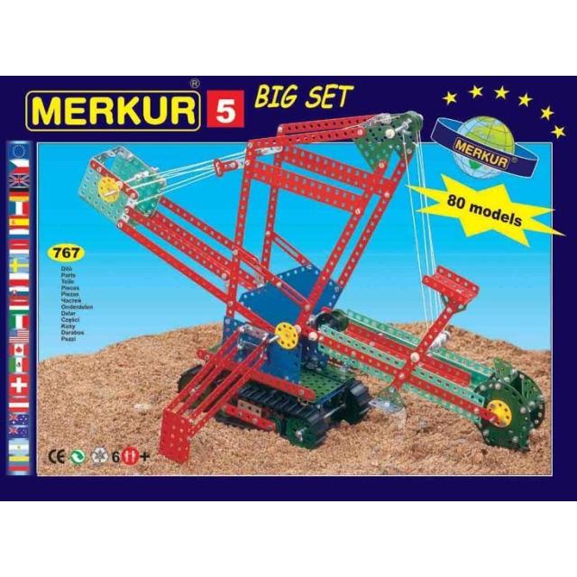 Obrázek produktu Merkur 5 Big Set - 84 modelů, 733 dílů
