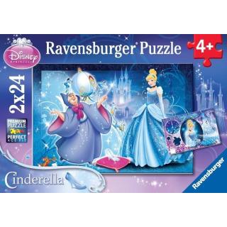 Obrázek 1 produktu Puzzle Popelka 2x24d. Ravensburger
