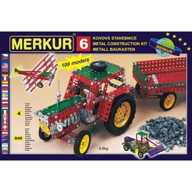 Obrázek produktu Merkur 6 Big Set - 100 modelů, 940 dílů