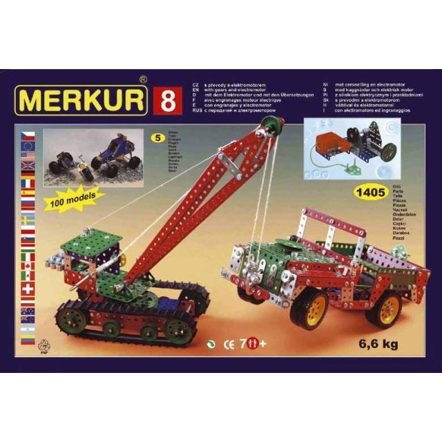 Obrázek produktu Merkur 8 Big Set - 130 modelů, 1405 dílů