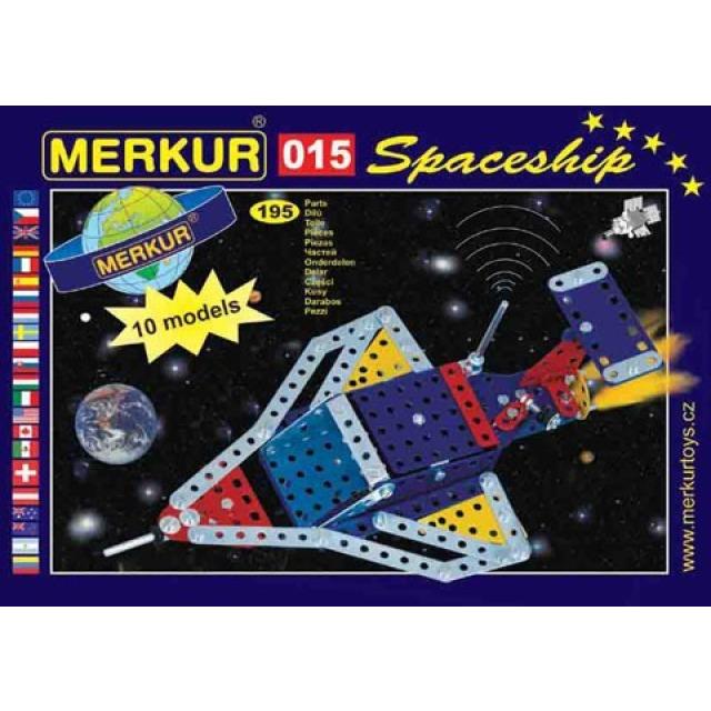 Obrázek produktu Merkur 15 Raketoplán - 10 modelů, 195 dílů
