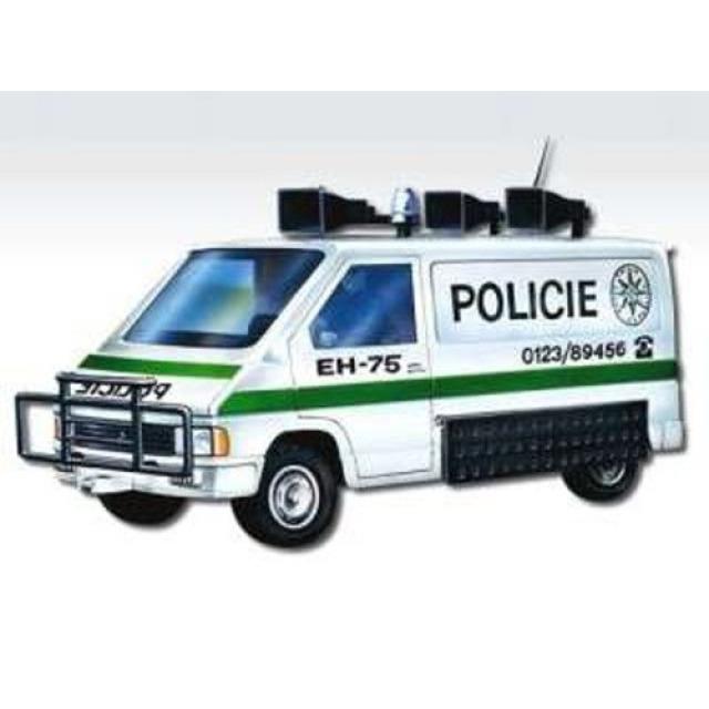 Obrázek produktu Monti 27 Policie Renault trafic 1:35