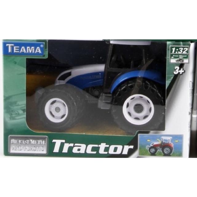Obrázek produktu Traktor 13cm modrý