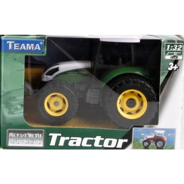 Obrázek produktu Traktor 13cm zelený