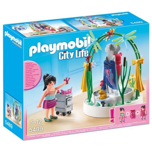 Obrázek produktu Playmobil 5489 City Life Dekorace výlohy (Aranžérka)