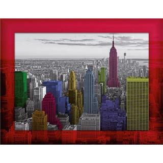 Obrázek 1 produktu Puzzle New York Panorama 500d, kompletní sada na zeď. Ravensburger
