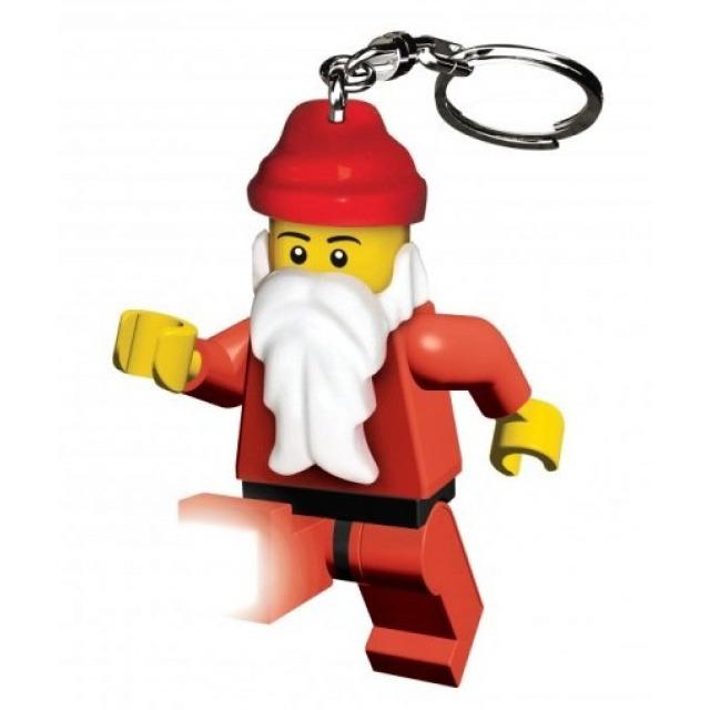 Obrázek produktu Lego LED klíčenka Santa, figurka 7 cm