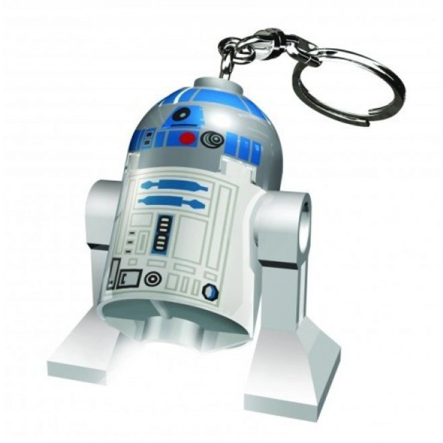 Obrázek produktu Lego LED klíčenka Star Wars R2D2, figurka 7 cm