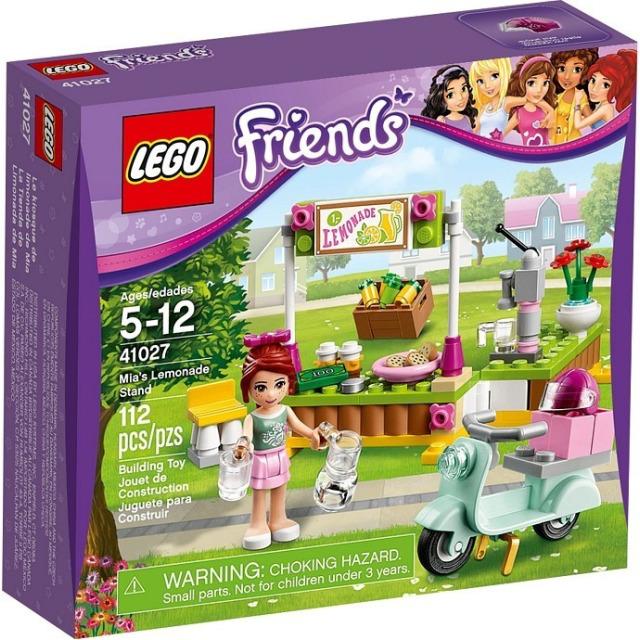 Obrázek produktu LEGO Friends 41027 Mia a stánek s limonádou