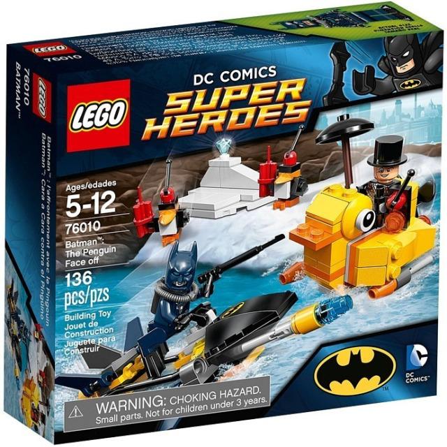 Obrázek produktu LEGO Super Heroes 76010 BatMan: Souboj s Tučňákem