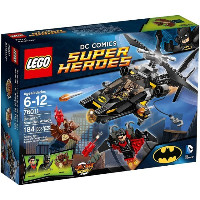 Obrázek produktu LEGO Super Heroes 76011 BatMan: Man-Bat Attack